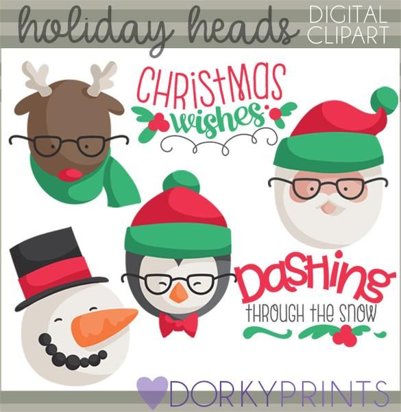 hipster christmas clipart fun for all sorts of holiday crafts and rh pinterest com