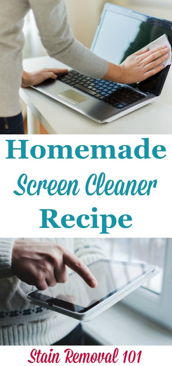 It Works Well On Computer Laptop Smart Phone And Tablet Screens Stain Removal 101