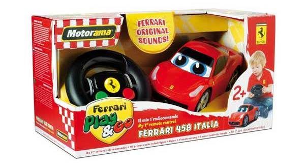 motorama ferrari italia 458 mein erstes ferngesteuertes auto von sablon ferrari italia 458. Black Bedroom Furniture Sets. Home Design Ideas