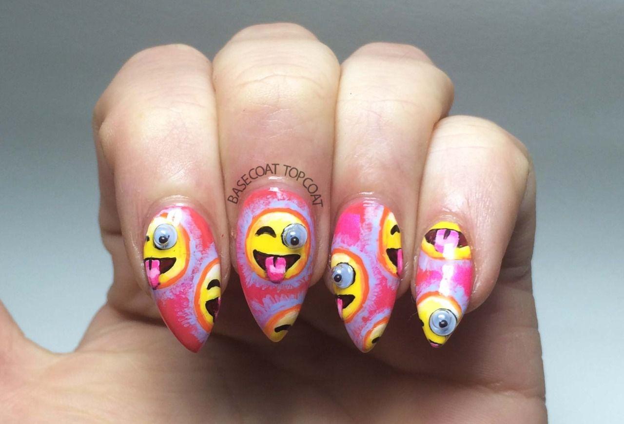 Funny Googly Eyes Nails: http://basecoat-topcoat.tumblr.com/post ...