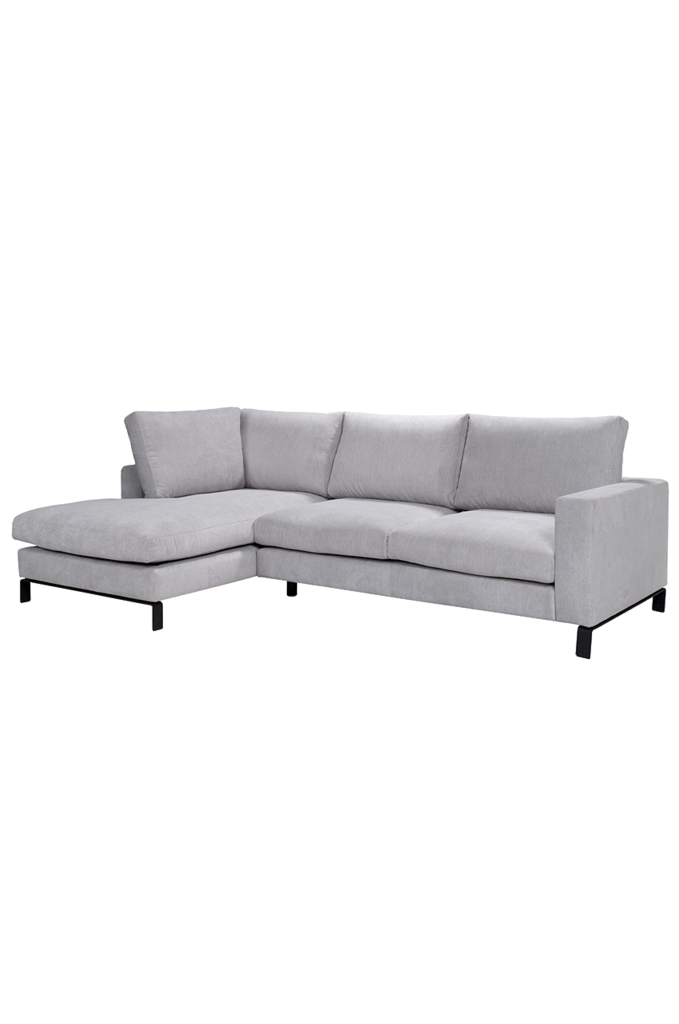 Celeste Rec 2 5er Hellgrau Interio Online Sectional Couch Couch Furniture