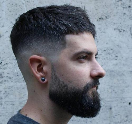 30 Impressive Caesar Haircut Ideas , Ancient Hairstyle With