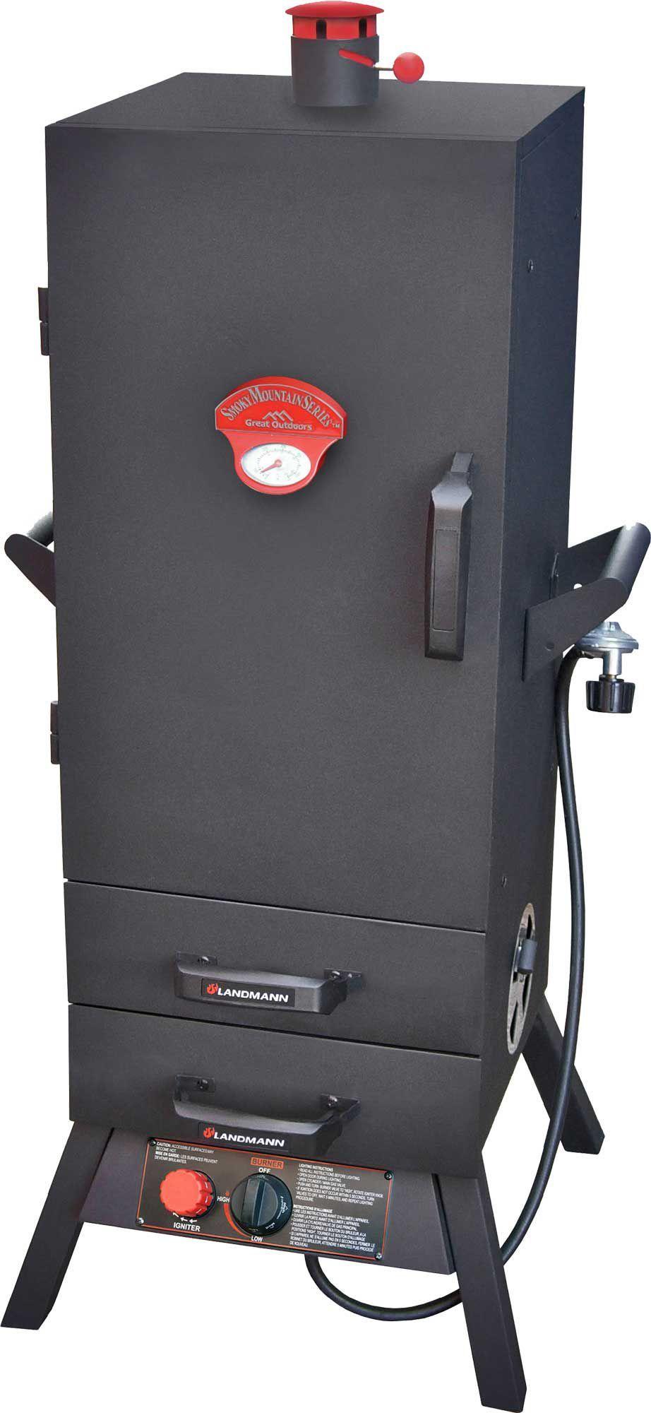 "Landmann 38"" Smoky Mountain Vertical Gas Smoker Gas"