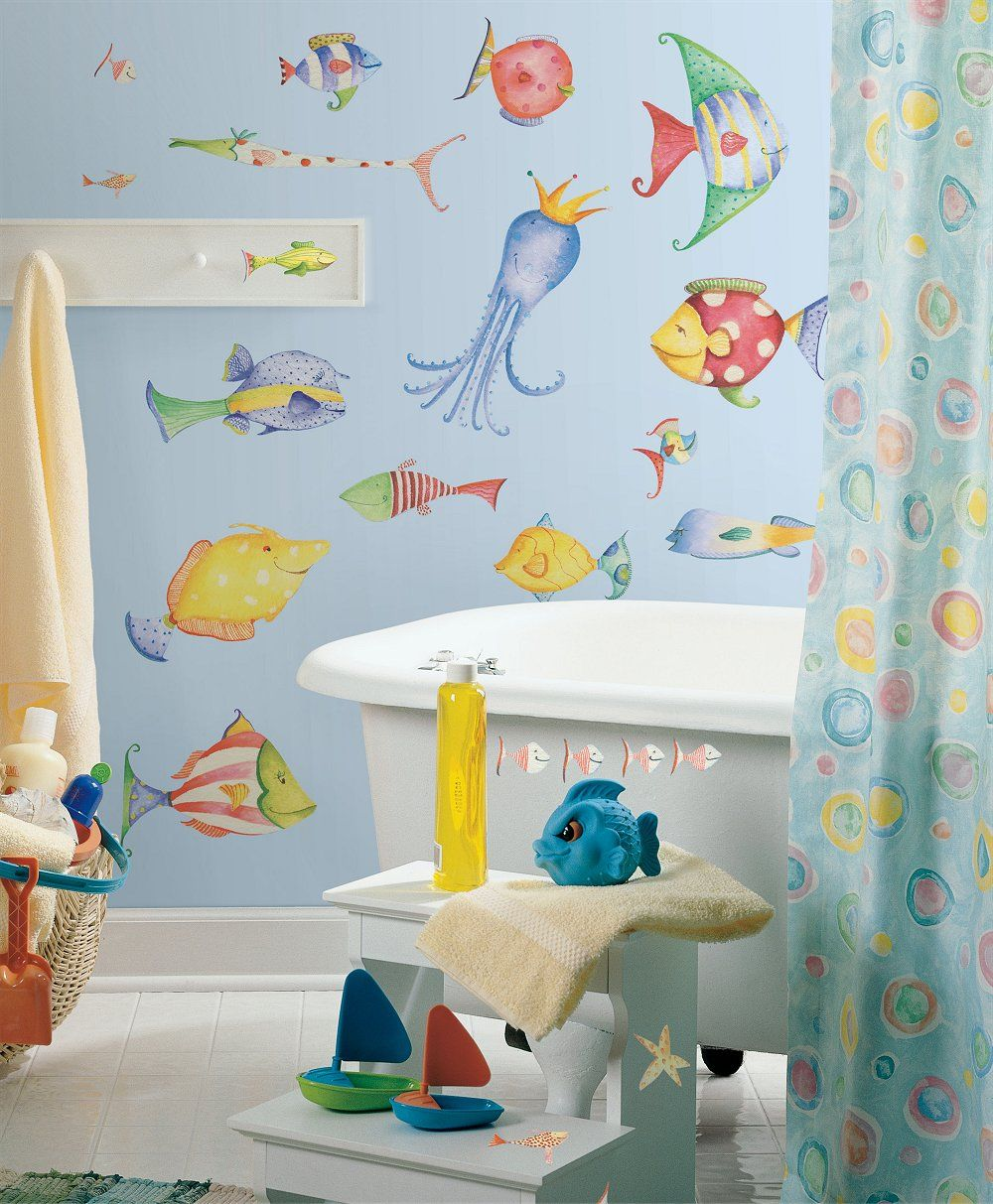 Image Result For Kids Bathroom Beach Theme Dragon Castle - Fish bath towels for small bathroom ideas