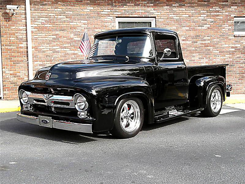 New To Forum 1955 F100 Land Speed Project Ford Truck Enthusiasts