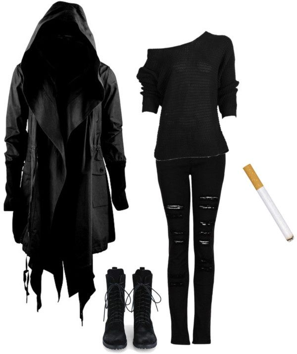Reaper | Dark Polyvore and Clothes