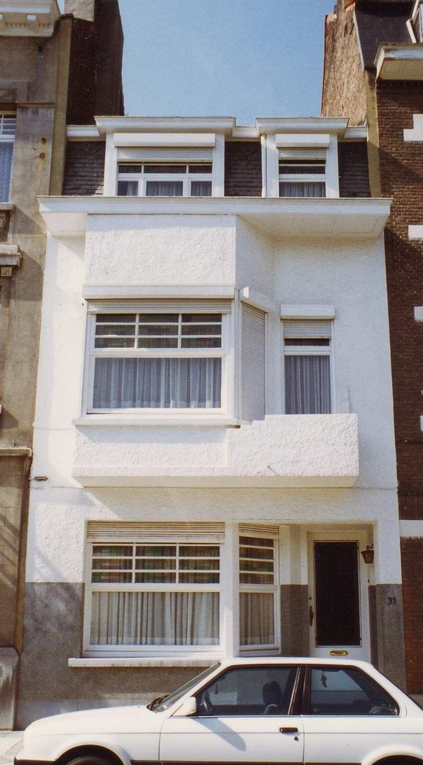 Maison de Ville (1929) Rue des Coquelicots 31 Etterbeek (Bruxelles ...
