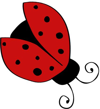 single ladybug with open wings craft ideas pinterest ladybug rh pinterest com ladybug clip art images free ladybug clip art free download