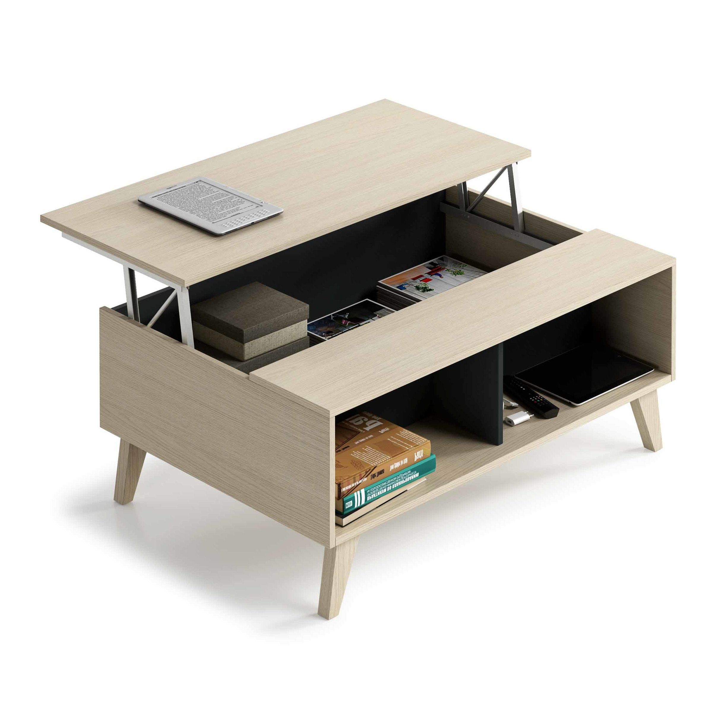 Dcor Design Stylus Coffee Table With Lift Top Coffee Table Coffee Table White Coffee Table With Storage