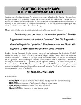 Public Health Essay Writing Commentary For The Literary Analysis Essay High School Reflective Essay also English Literature Essay Writing Commentary For The Literary Analysis Essay  Everything  Written Essay Papers