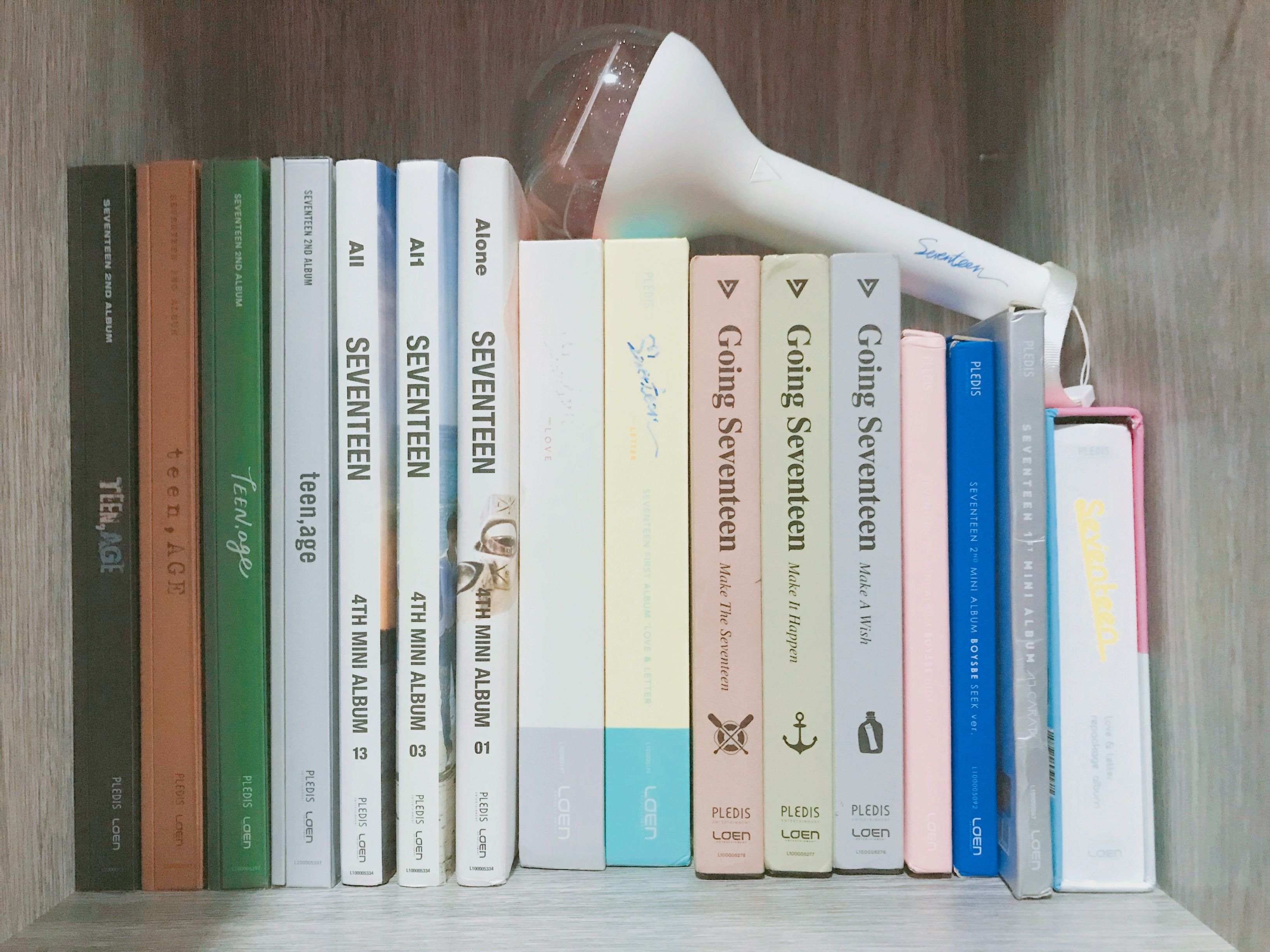 My collection for Seventeen albums ❤️ in 2019 | Seventeen