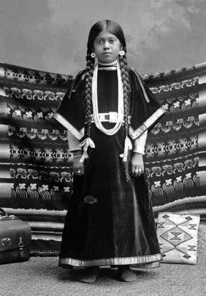 Nez pierce 1900- nettie Morris
