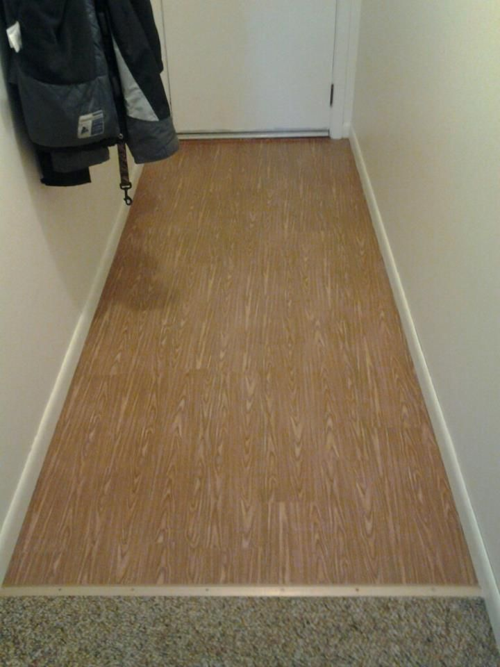 Temporary Contact Paper Wood Floors Cut Grain Into
