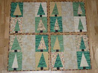 Dollan Design: Christmas tree bordstabletter