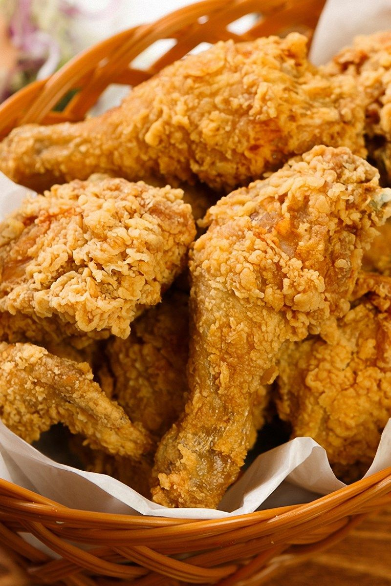 Recipe Including Course S Entree And Ingredients Black Pepper Egg Flour Garlic Powder Salt Seasoned Salt V Crispy Fried Chicken Fried Chicken Recipes