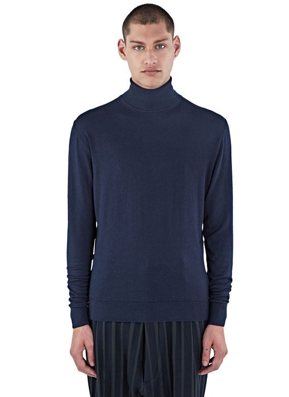 b17ce9116 Ribbed Roll Neck Sweater