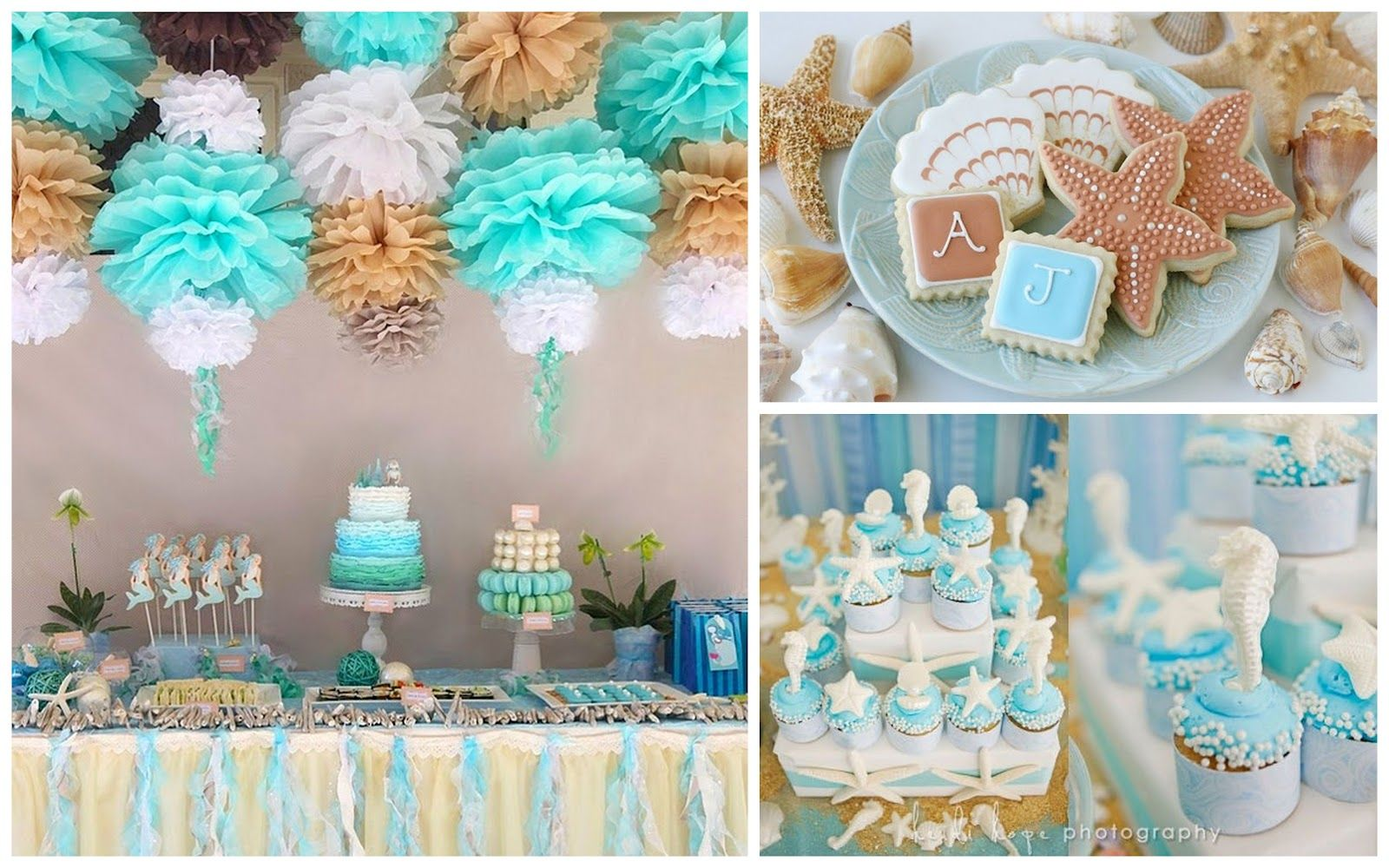 Beach Themed Party Decorating Ideas Part - 24: Sunny Sweet Life: Beach-Themed Party Ideas