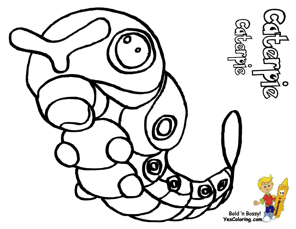 Pokemon Caterpie Coloring Pages From The Thousand Pictures On The Internet In Relation To Pokemon Caterpie Coloring Pages We Choices The Best Choices Togeth