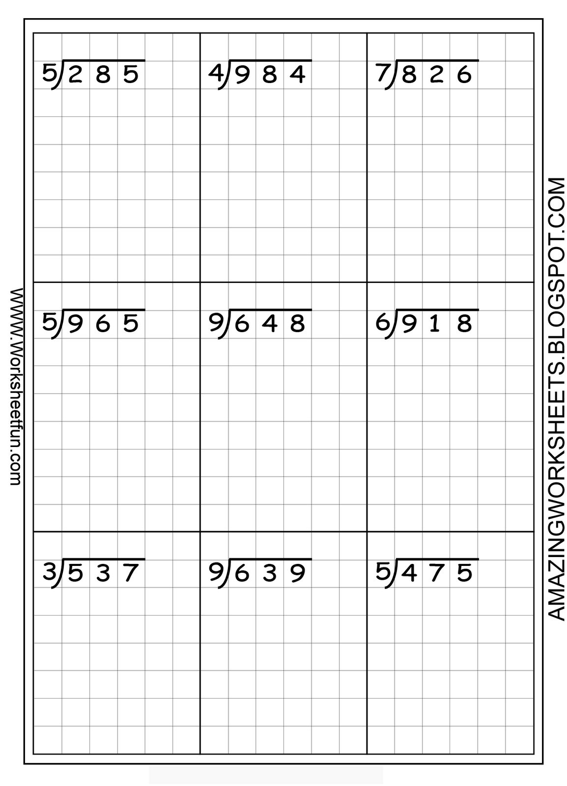 math worksheet : 1000 images about long ision on pinterest  long ision  : Grade 5 Division Worksheets