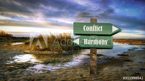 Street Sign Harmony versus Conflict , #affiliate, #Sign, #Street, #Conflict, #Harmony #Ad