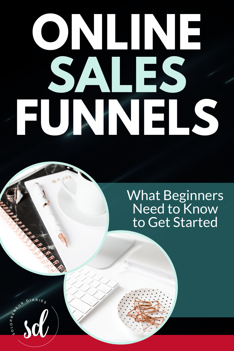 Creating sales funnels is an easy way to use online marketing to grow your small business. But if you've never created a sales funnel, you may be wondering how to get started. Click through for a beginner's guide to sales funnels and download a free template to help you get started!