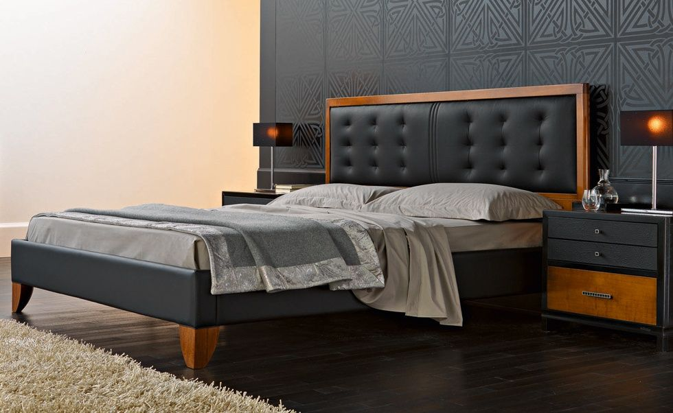 M16 Mosaico Contemporary Collections Le Fablier Bed With False