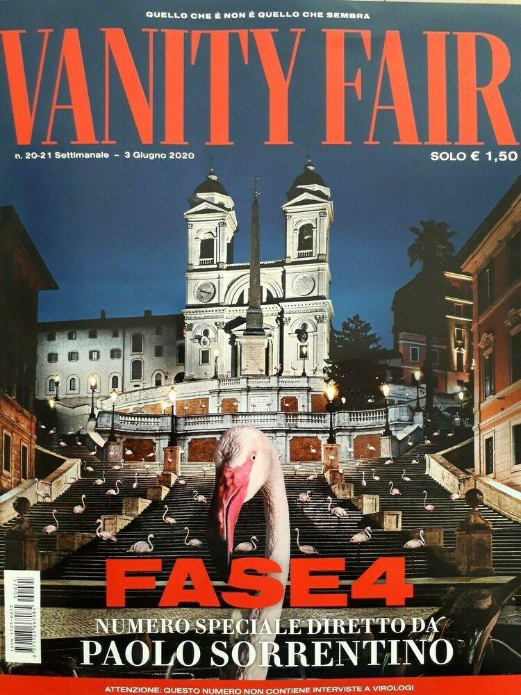 Vanity Fair Italy N 20 21 3 Giugno 2020 Rivista Magazine Paolo Sorrentino Fase In 2020 Vanity Fair Italia Vanity Fair Ferry Building San Francisco