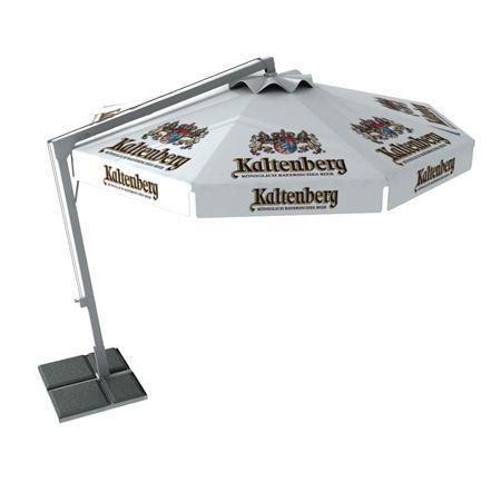 beer logo umbrella patio umbrellas