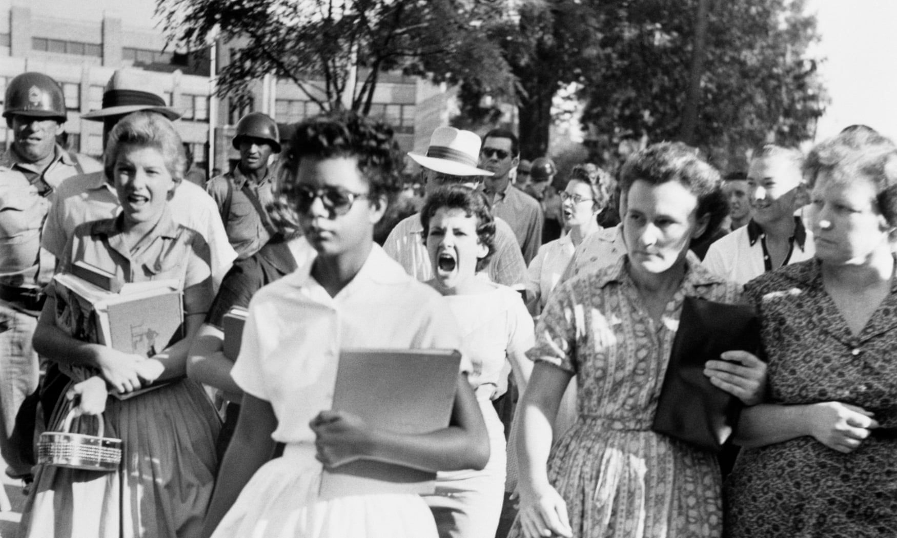 Little Rock Nine The Day Young Students Shattered Racial