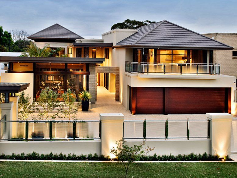 Best contemporary house design pitched roof google for Modern house facade home design