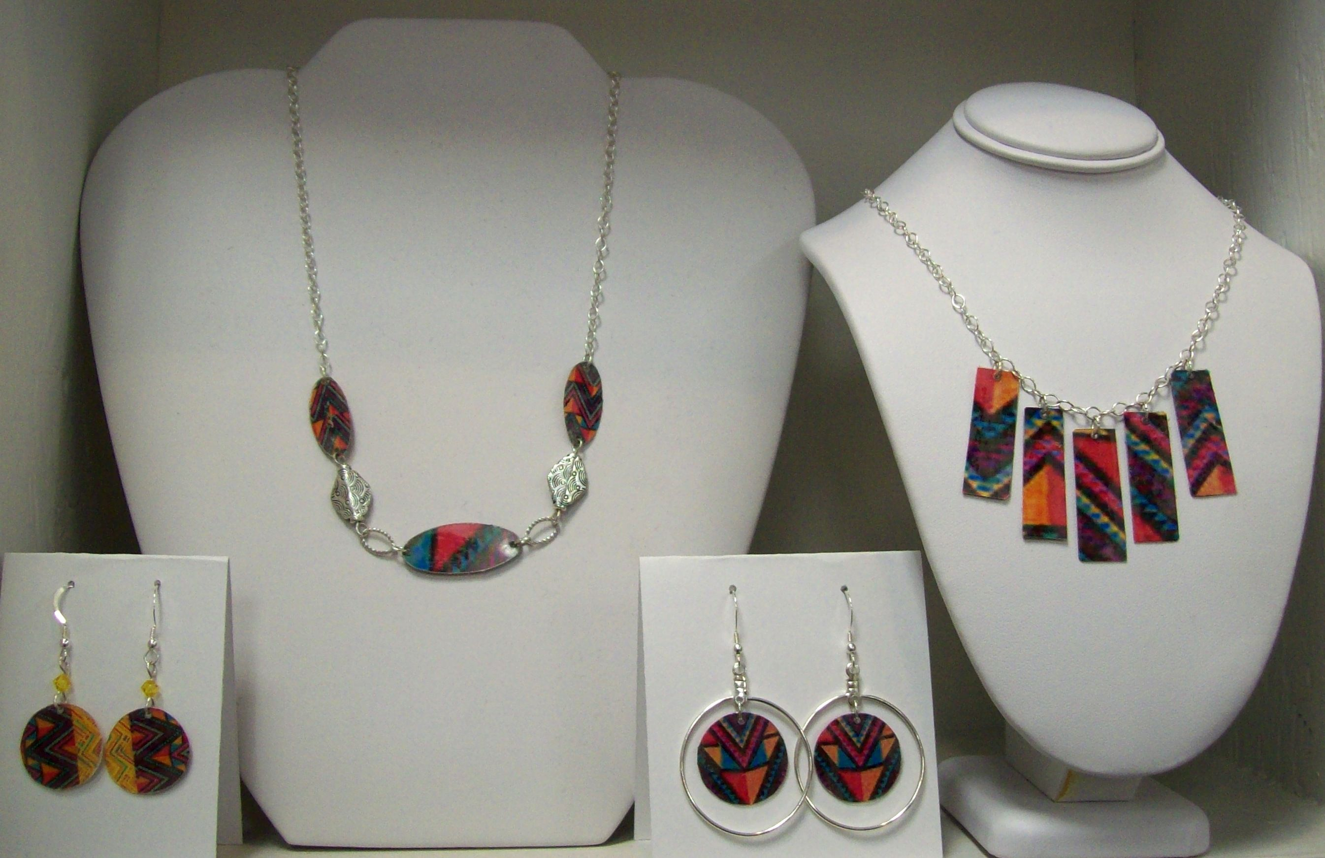 Frank Lloyd Wright Inspired Paper Jewelry Collection
