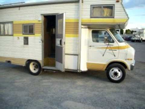 1976 Dodge - Sportsman Four Star Coach Motorhome - For Sale - (951