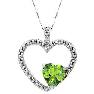 necklace guardian angel mary peridot crystal products mariana img s birthstone august