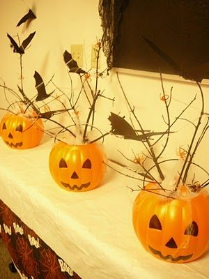 ::: FOCAL POINT :::: THRIFTY TREATS: HALLOWEEN PARTY DECOR
