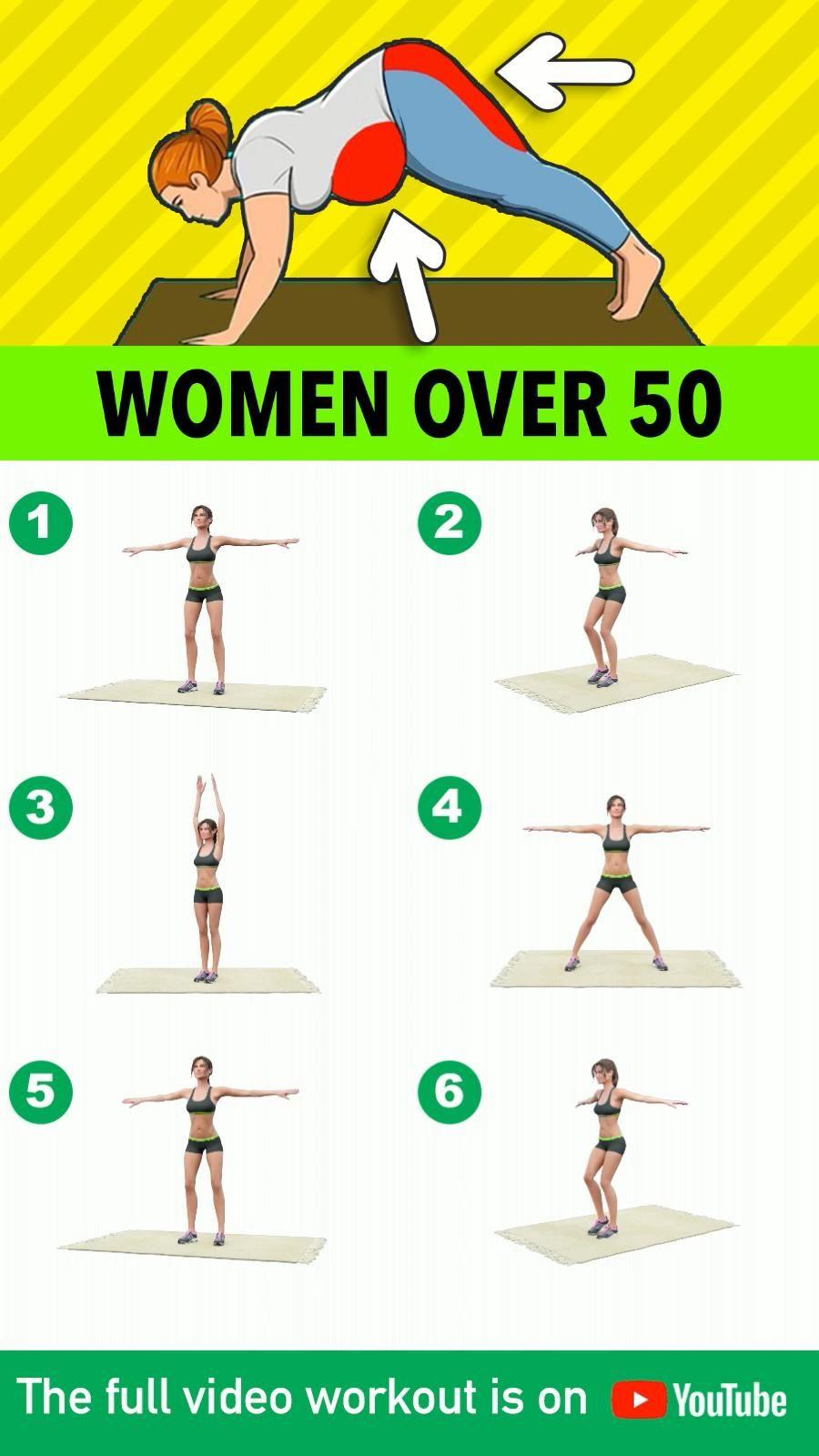 4 Best Exercises For Women Over 50