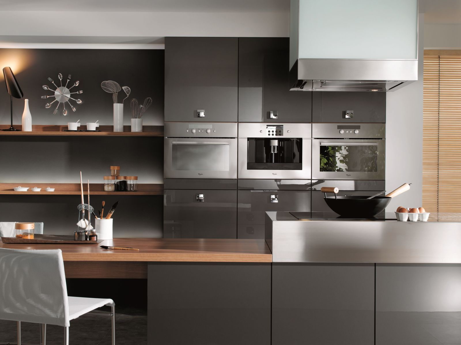 real kitchen inspiration - nevada in light grey and graphite with