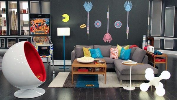 17 Best Images About Frinally  Tgif On Pinterest  Attic Game Awesome Fun Living Room Ideas Review