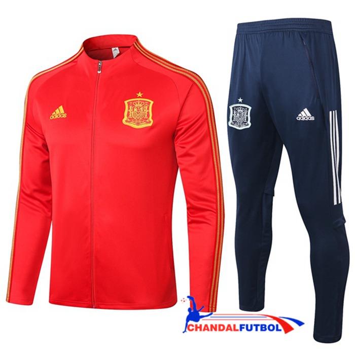 Chandal Equipos De Futbol Chaqueta Espana Rojo 2020 2021 Ropa De Hombre Chandal Chaquetas