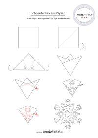 sechseckige schneeflocken aus papier anleitung geburtstag origami xmas tree und xmas. Black Bedroom Furniture Sets. Home Design Ideas