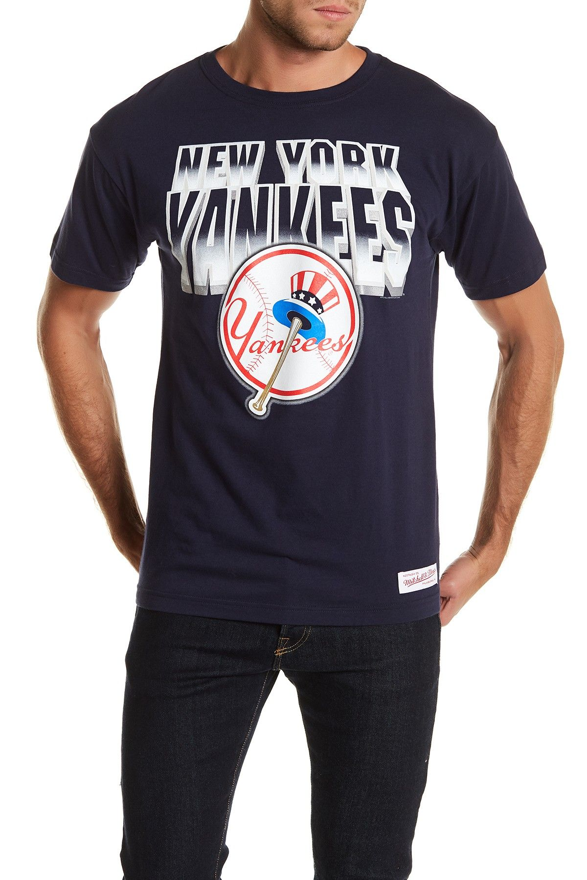 MLB Yankees Crew Neck Tee