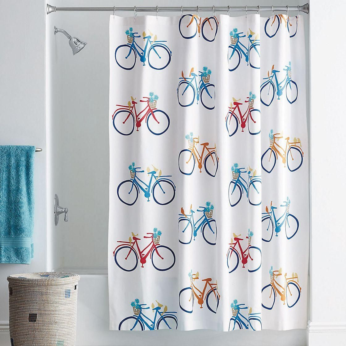 Joy Ride Shower Curtain The Company Store Curtains