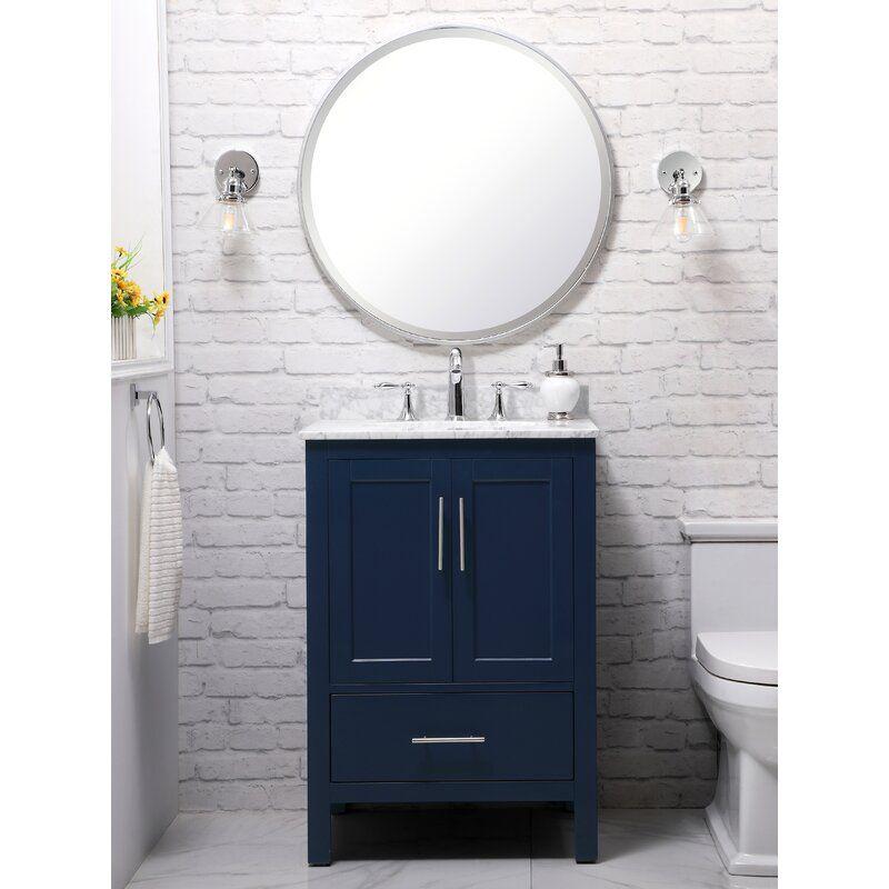 Beachcrest Home Nova 24 Single Bathroom Vanity Set Reviews Wayfair In 2020 Single Bathroom Vanity Bathroom Vanity Vanity Set