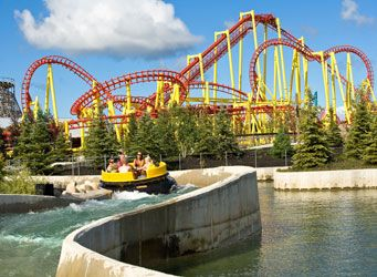 Michigan S Adventure Amusement Waterpark Owned By Cedar Point Which Is Running Out Of Room And Michigan Adventures Michigan Vacations Best Amusement Parks