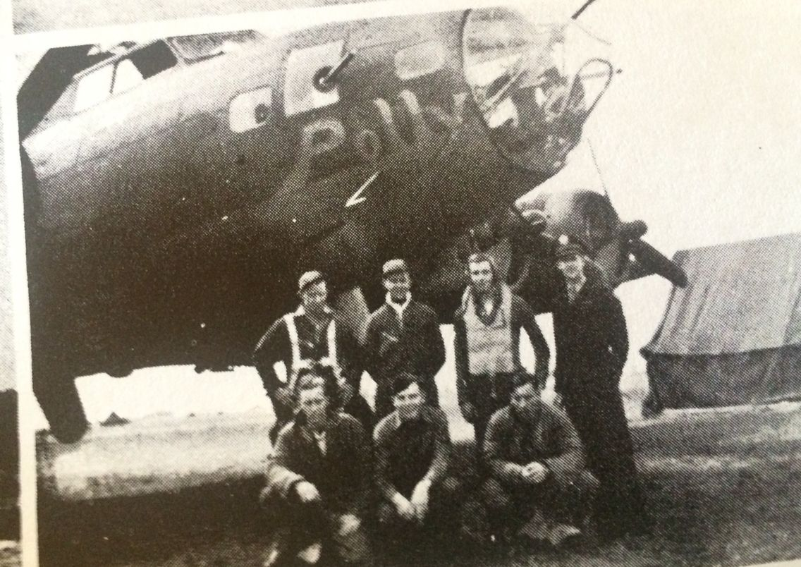 B17 379th Kimbolton. Polly 425816. 38 missions. Returned
