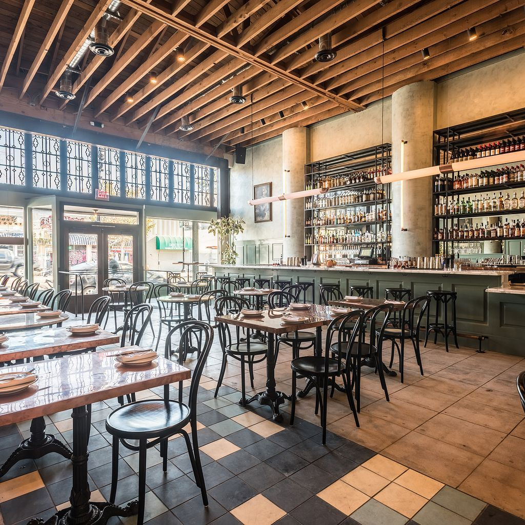 The 15 Best New Brunch Spots In Los Angeles Space Restaurants Brunch In The City Cafe