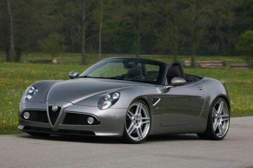 Alfa Romeo 8c Spider Tuned By Novitec Alfa Romeo Alfa Romeo