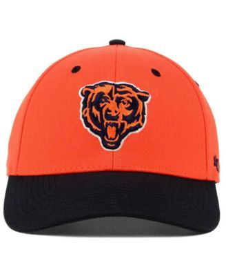 8fdb83dc3a57f 47 Brand Chicago Bears Kickoff 2-Tone Contender Cap - Orange M L ...