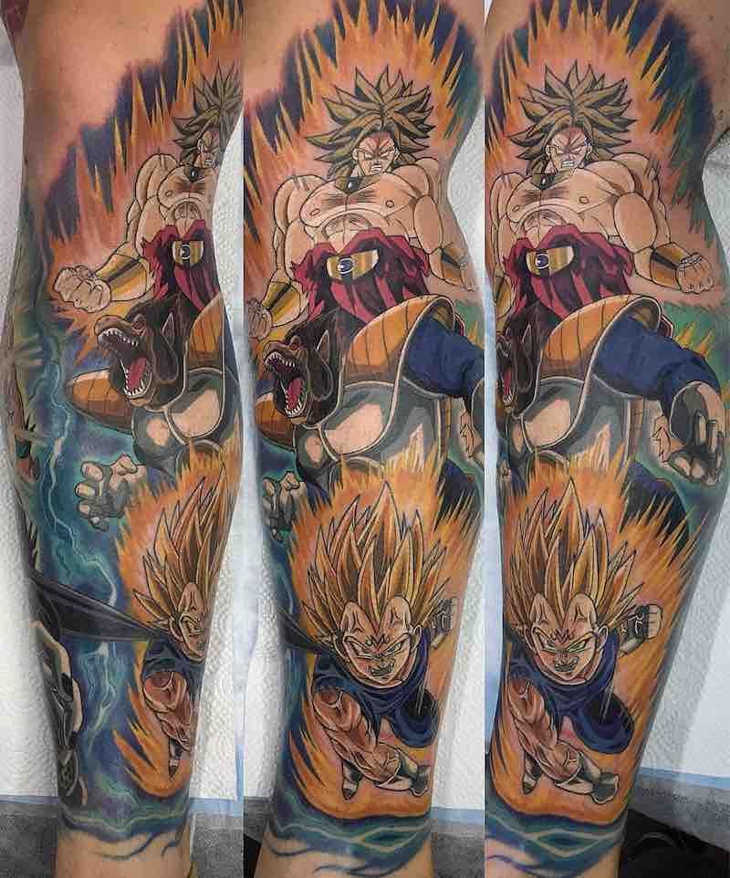 The Very Best Dragon Ball Z Tattoos Dragon Ball Z Tattoos Z