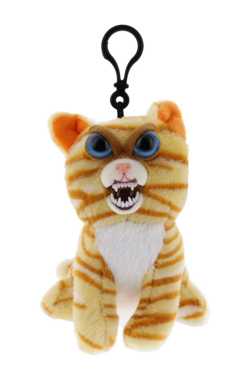 Feisty Pets Minis Princess Pottymouth 5 Plush Cat On A Keychain