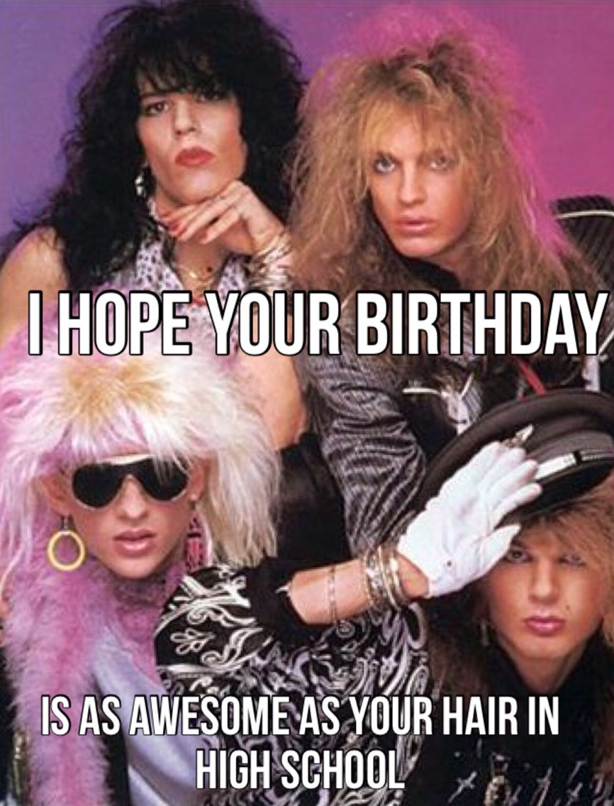 Or just the '80's in general | Birthday Memes | Happy birthday ... #birthdayCoffee